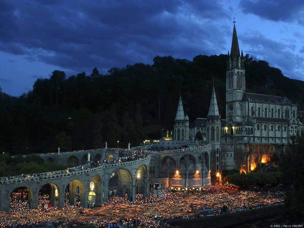 Place Your Prayer Petitions Here at the Grotto of Lourdes