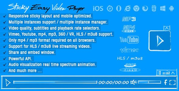 Sticky Easy Video Player Wordpress Plugin   Code-Scripts-and