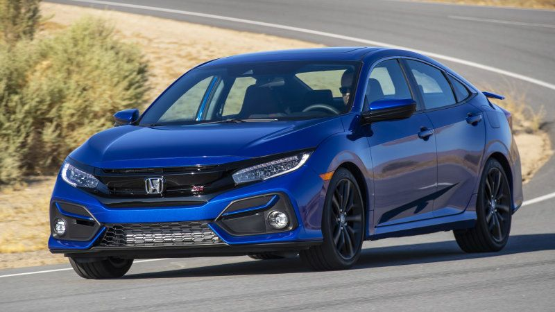 2020 Honda Civic Si returns fewer mpg for better