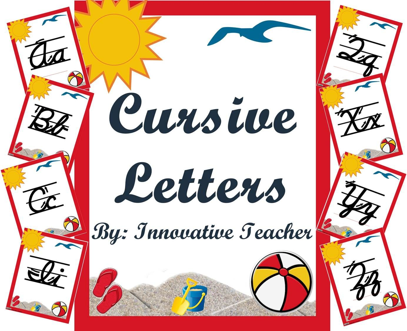 Cursive Writing Letters