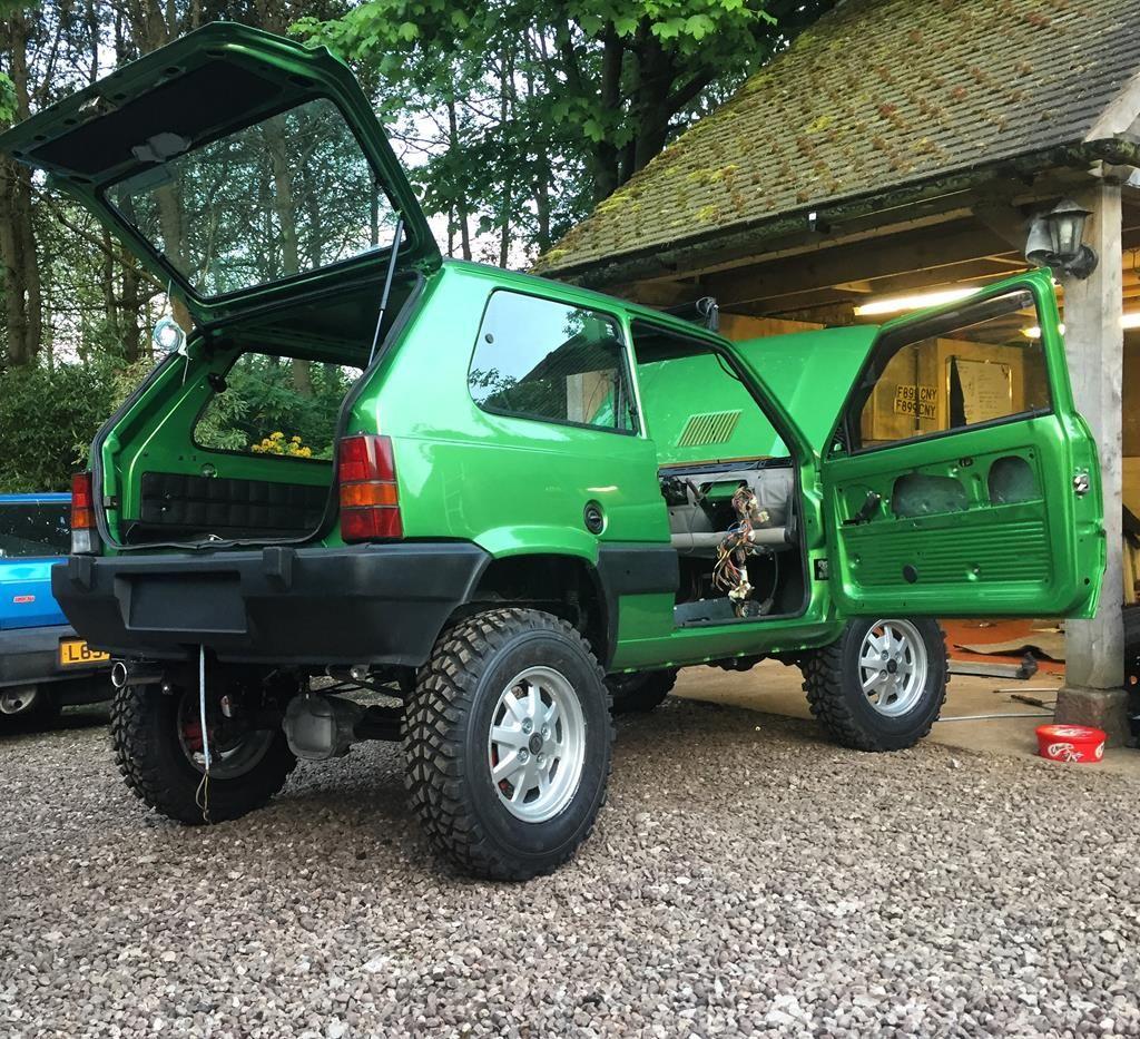 1988 Fiat Panda 4x4 Sisley Modified Greenlaner Retro Rides Macchine Sportive Motori