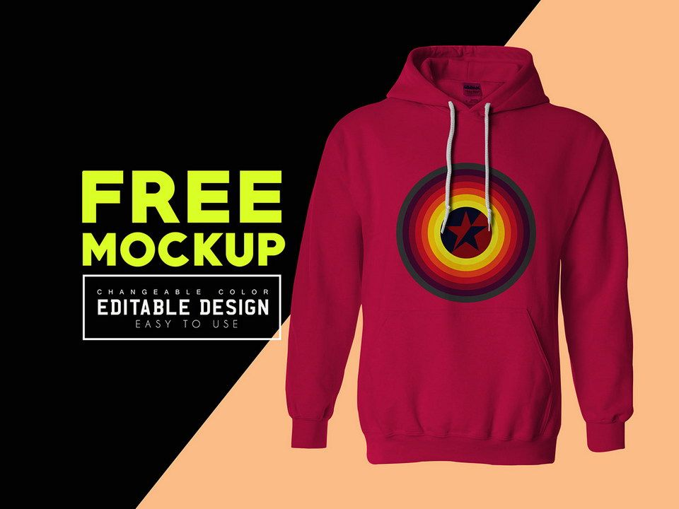 77+ Hoodie Mockup Free Front And Back Amazing PSD Mockups File