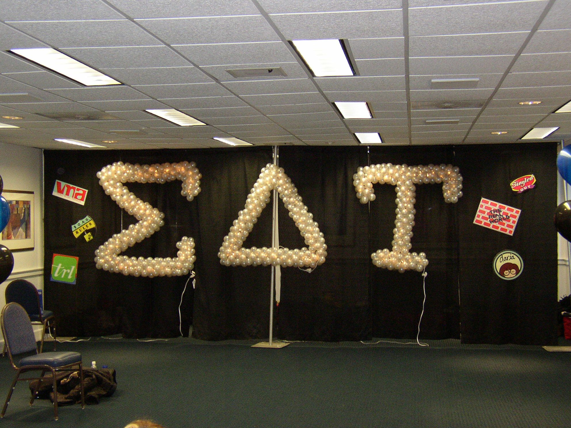 Sorority  RUSH  Greek letter sculptures | Balloon Sculptures in