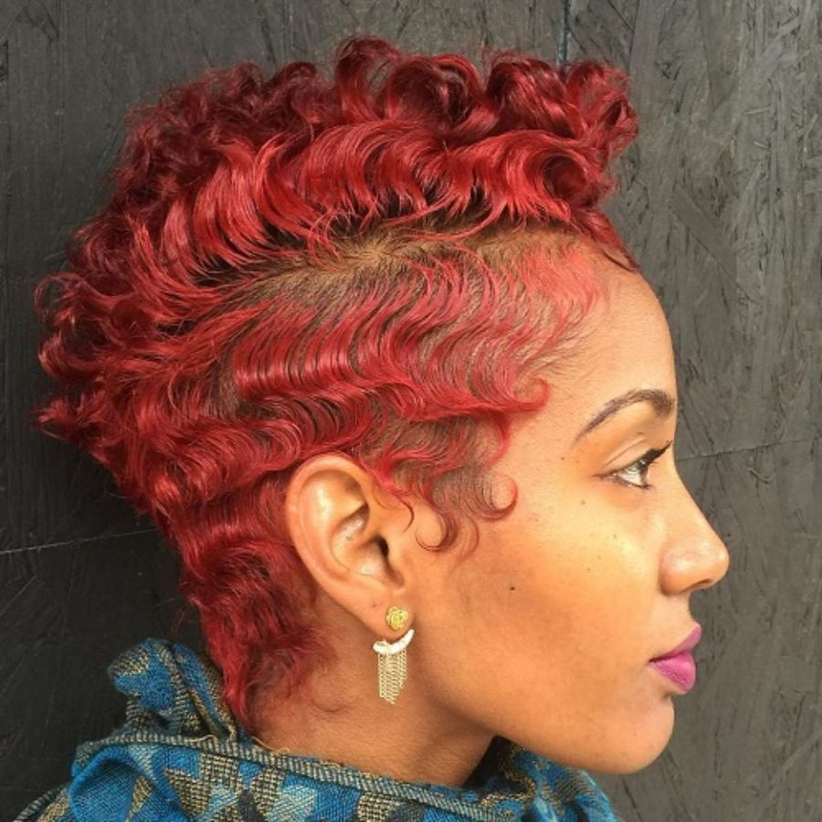 50 Most Captivating African American Short Hairstyles Stylish Short Haircuts Thick Hair Styles Short Hair Styles African American