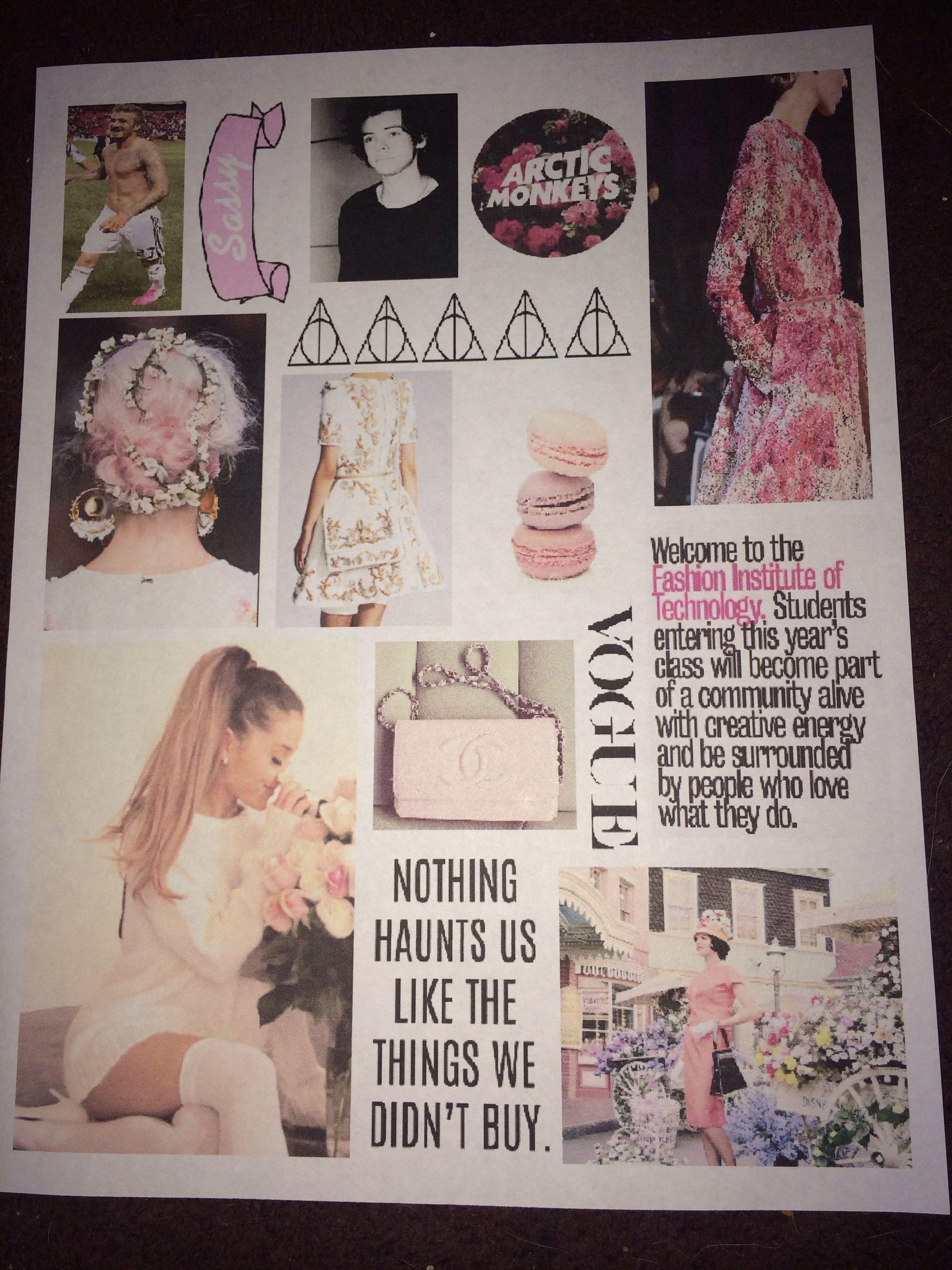 Tumblr Notebook Binder Collage Covers Diy School Supplies