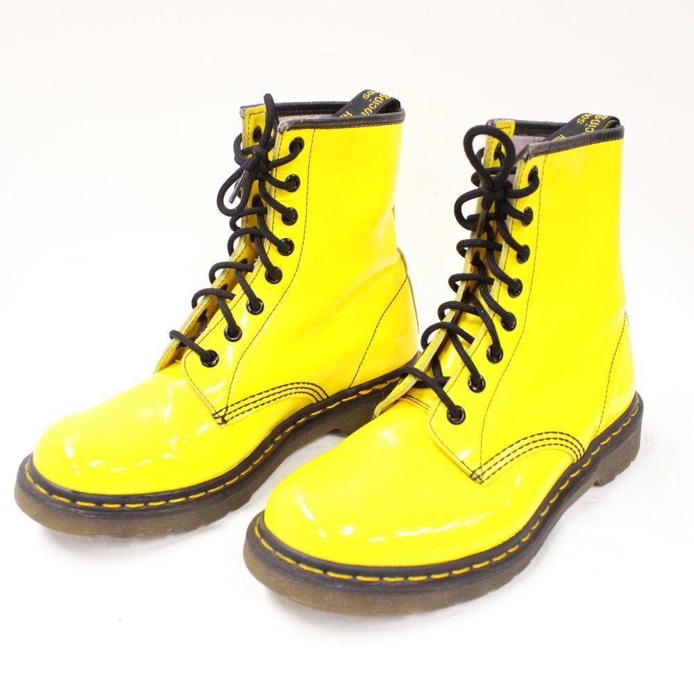dr martens colour pop yellow Dr Martens