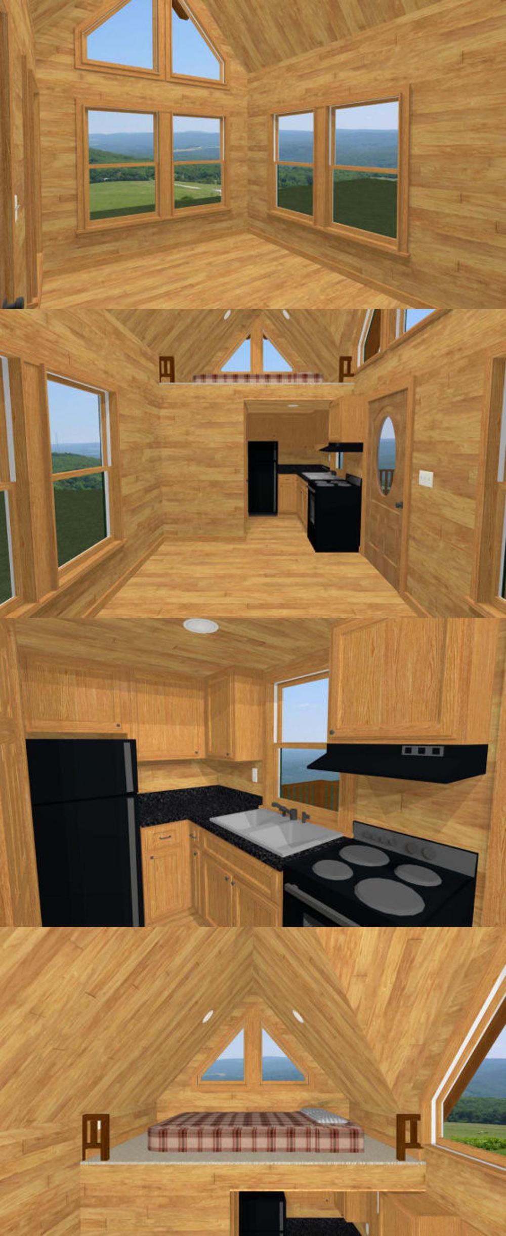 20x10 Tiny House 1Bedroom 1Bath 266 sq ft PDF