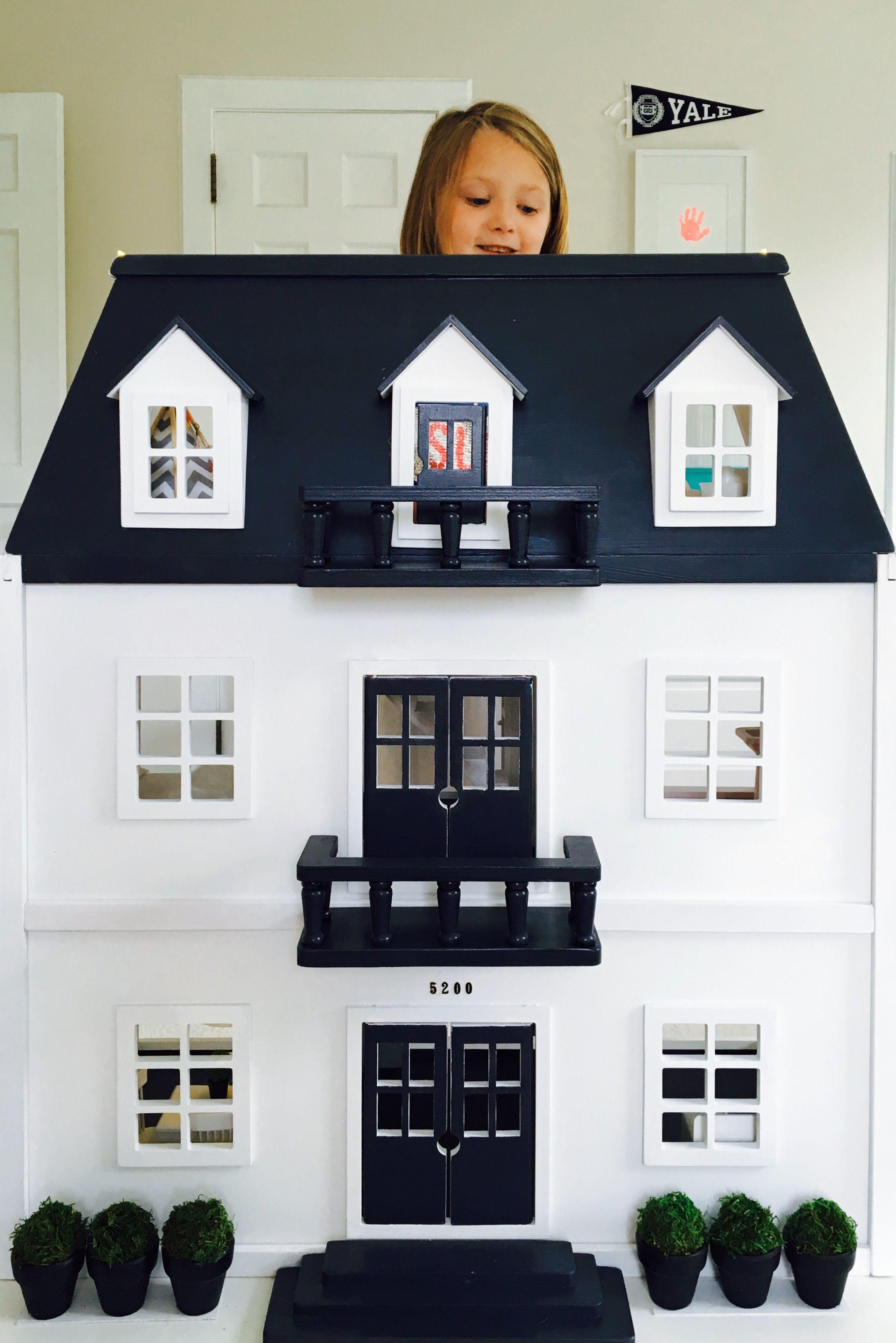 Dollhouse Reno Melissa And Doug Repaint Colette Barbie Doll