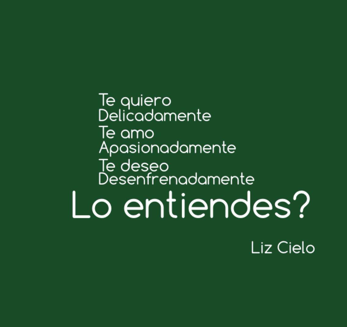 Lo entiendes?