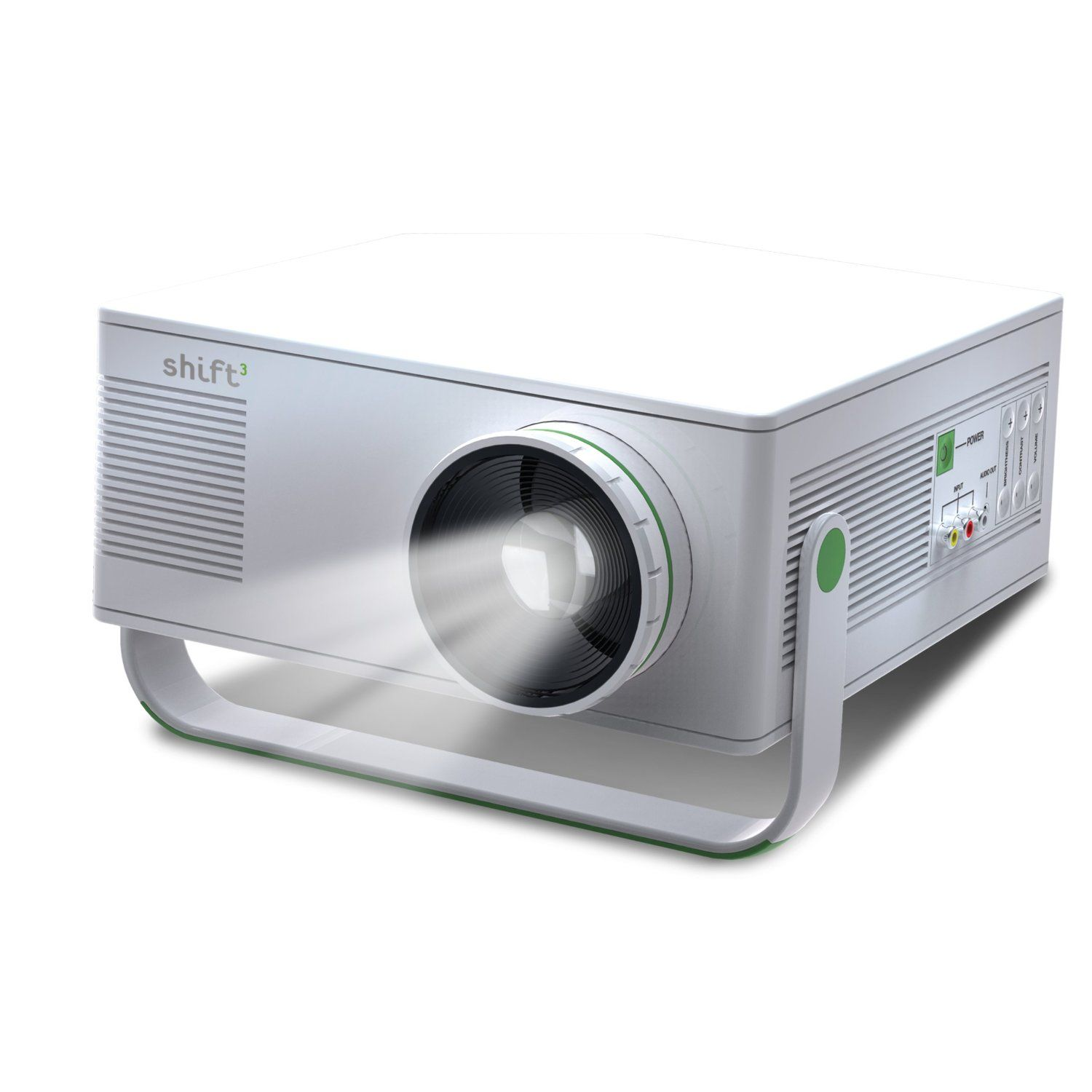 Shift 2 Light Blast Entertainment Project. I don't care what kind of projector, but this one is cheap. Projects images up to 120 inches on walls or ceilings. don't even need a projector screen to watch movies. Perfect.