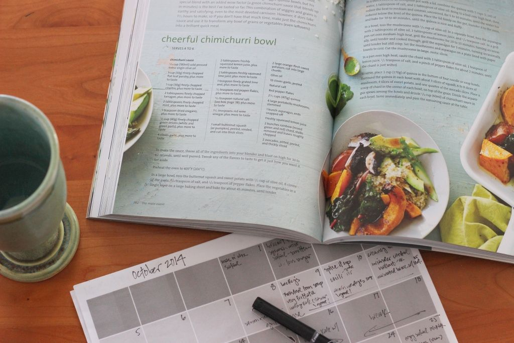 """Taking the Guesswork out of Meal Planning: """"I get bored cooking the same thing over and over, so I like to try new recipes each week. Some of them are winners and some of them are never to be cooked again! Over the years we've come up with different systems to make cooking dinner easier and quicker. My new favorite system has been in use since the summer..."""""""