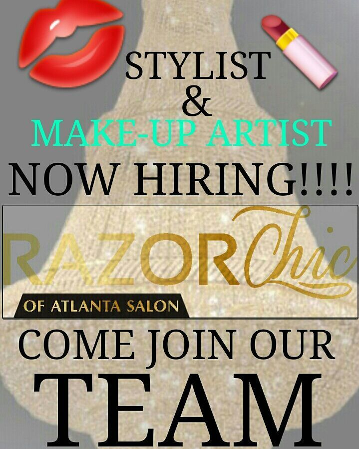 MUA \ STYLISTNOW HIRING!!! Please send a resume social media - resume social media