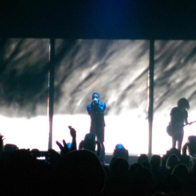 The fan experience at the Nine Inch Nails concert at Sleep Country ...