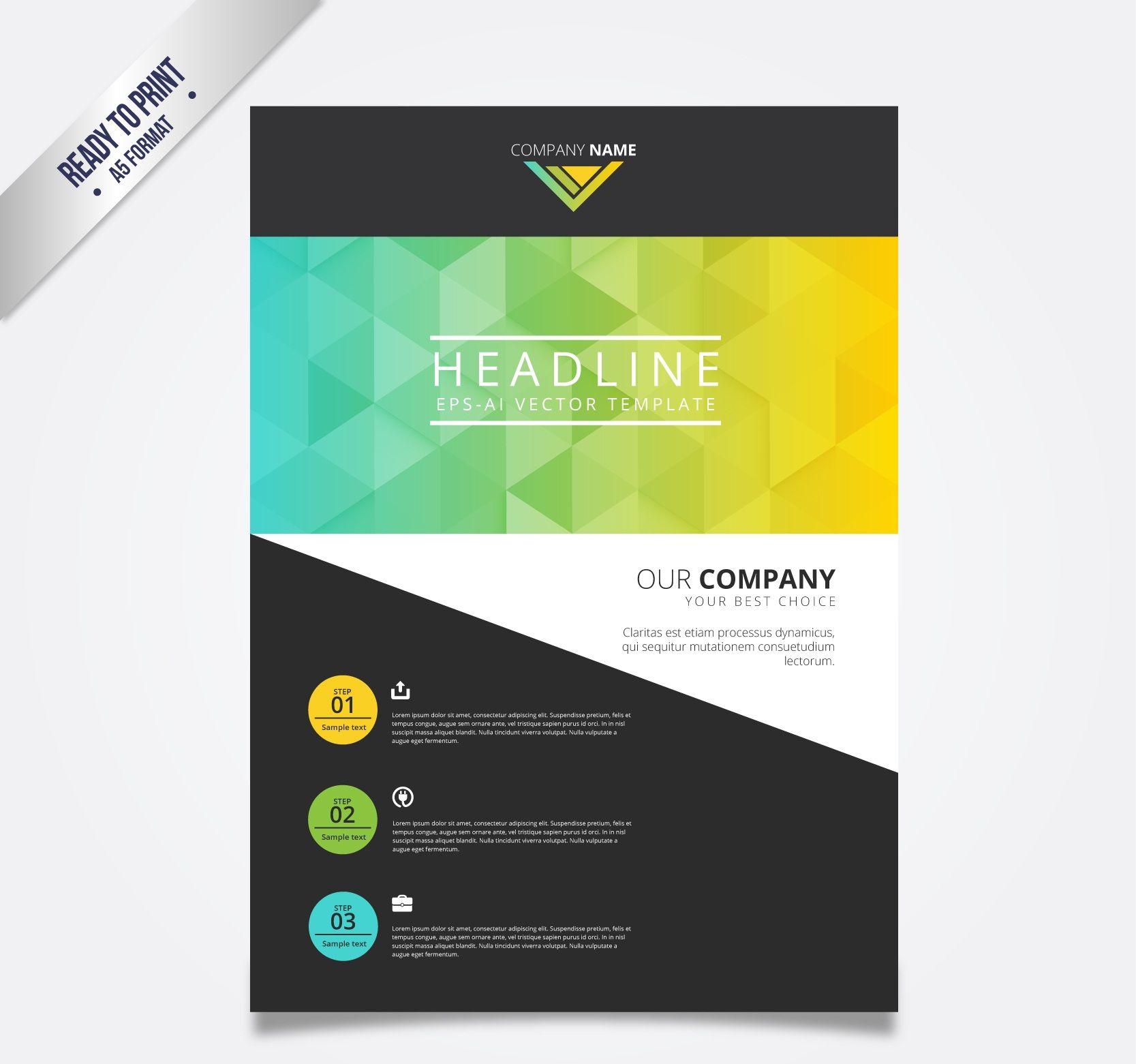 Cool Flyer Designsngle Side Double Side Flyer Design