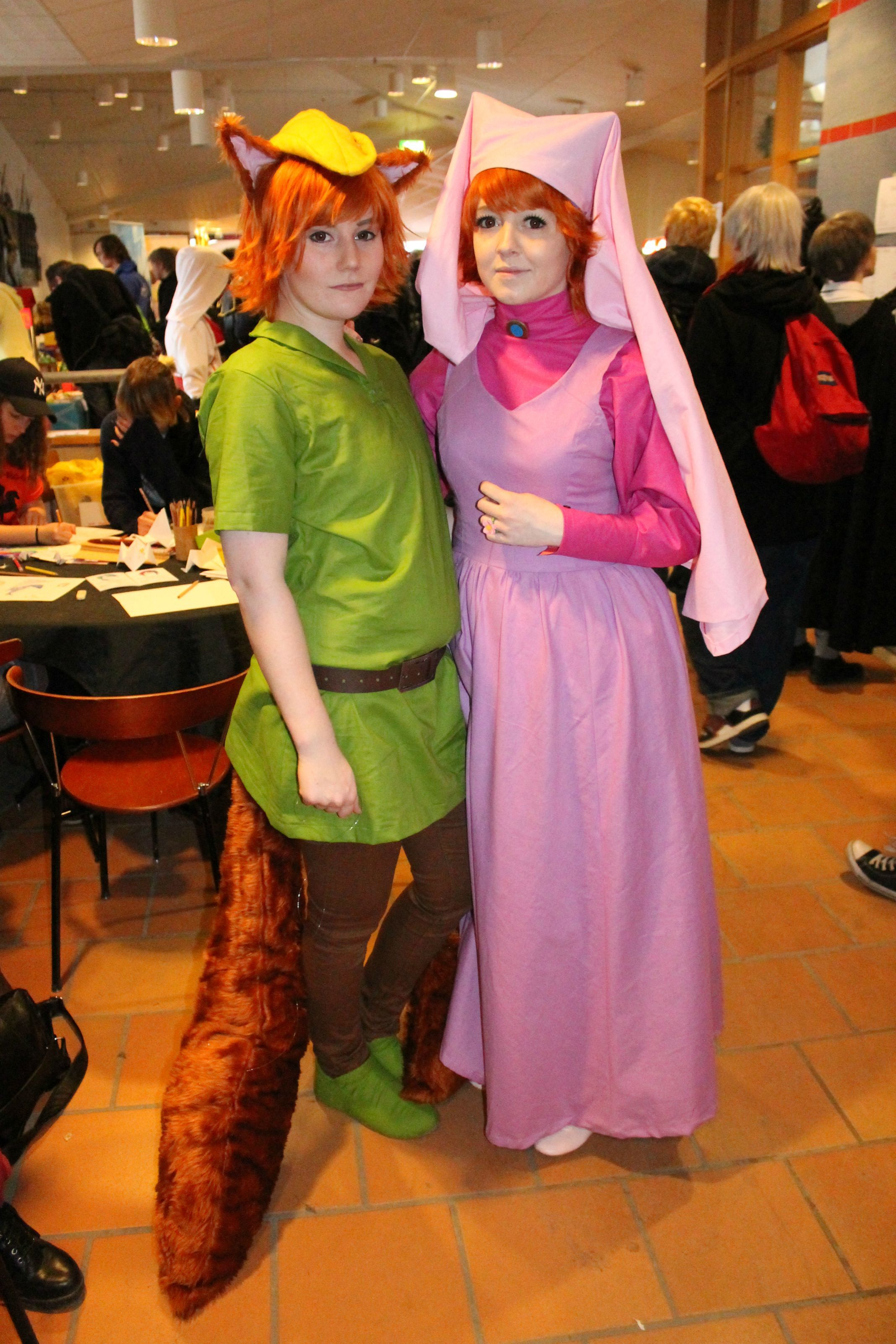 Robin Hood and Marion Cosplay @ NärCon Vinter 2015