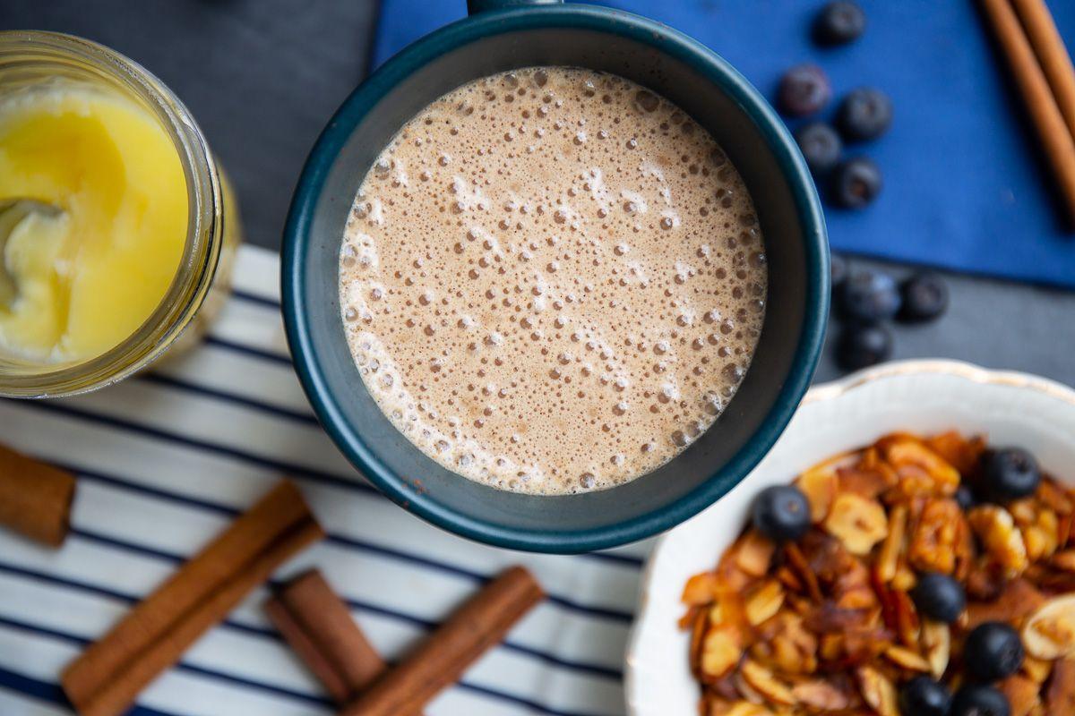 Golden cinnamon coffee recipe with images cinnamon