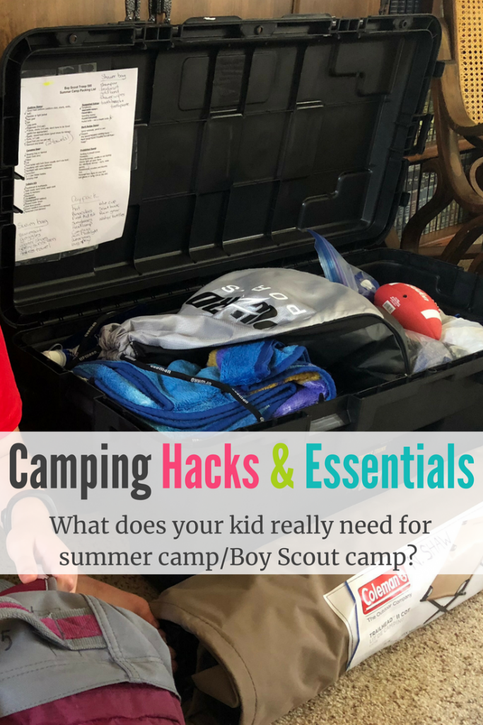 Photo of Sleep Away Camp Essentials & Camping Hacks for Boy Scout Camping, Summer Camp, Etc