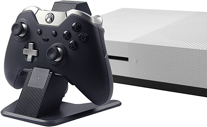 Amazonbasics Aluminum Controller Charger Stand For Xbox One Xbox One S And Xbox One X 2 6 Foot Usb Cable Blac Xbox One Xbox One S Xbox Wireless Controller