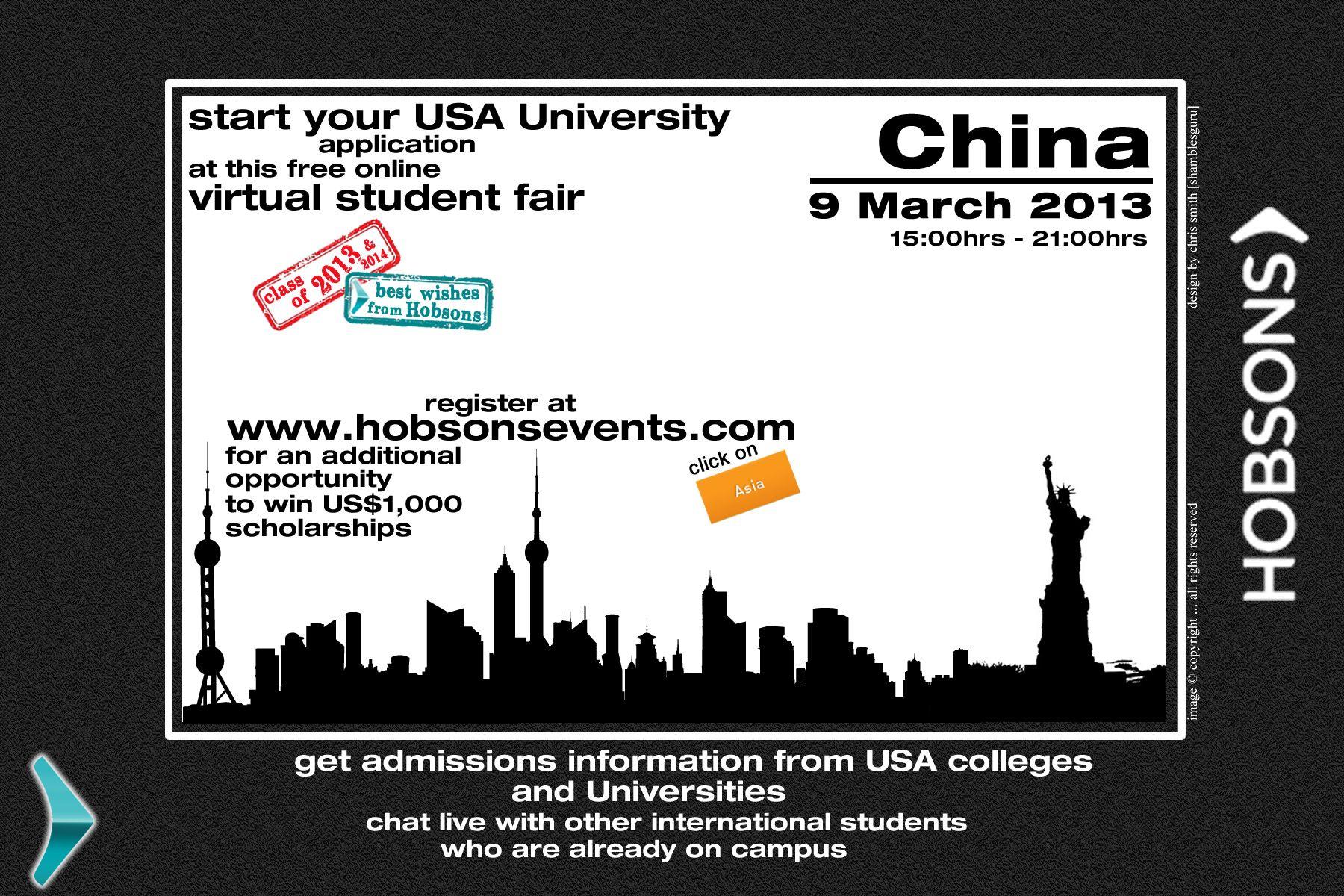 Hobsons Virtual Student Fairs VSF