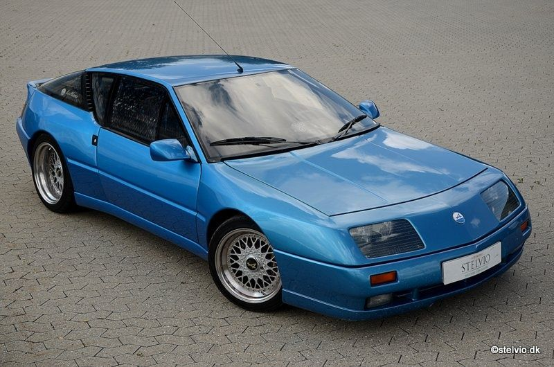 Specialist Tuned 1992 Renault Alpine GTA V6 Turbo Le Mans
