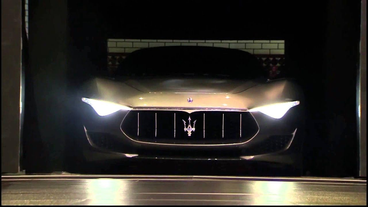 Photo of Maserati Alfieri Concept Car. Unveiling at 2014 Geneva Auto Show