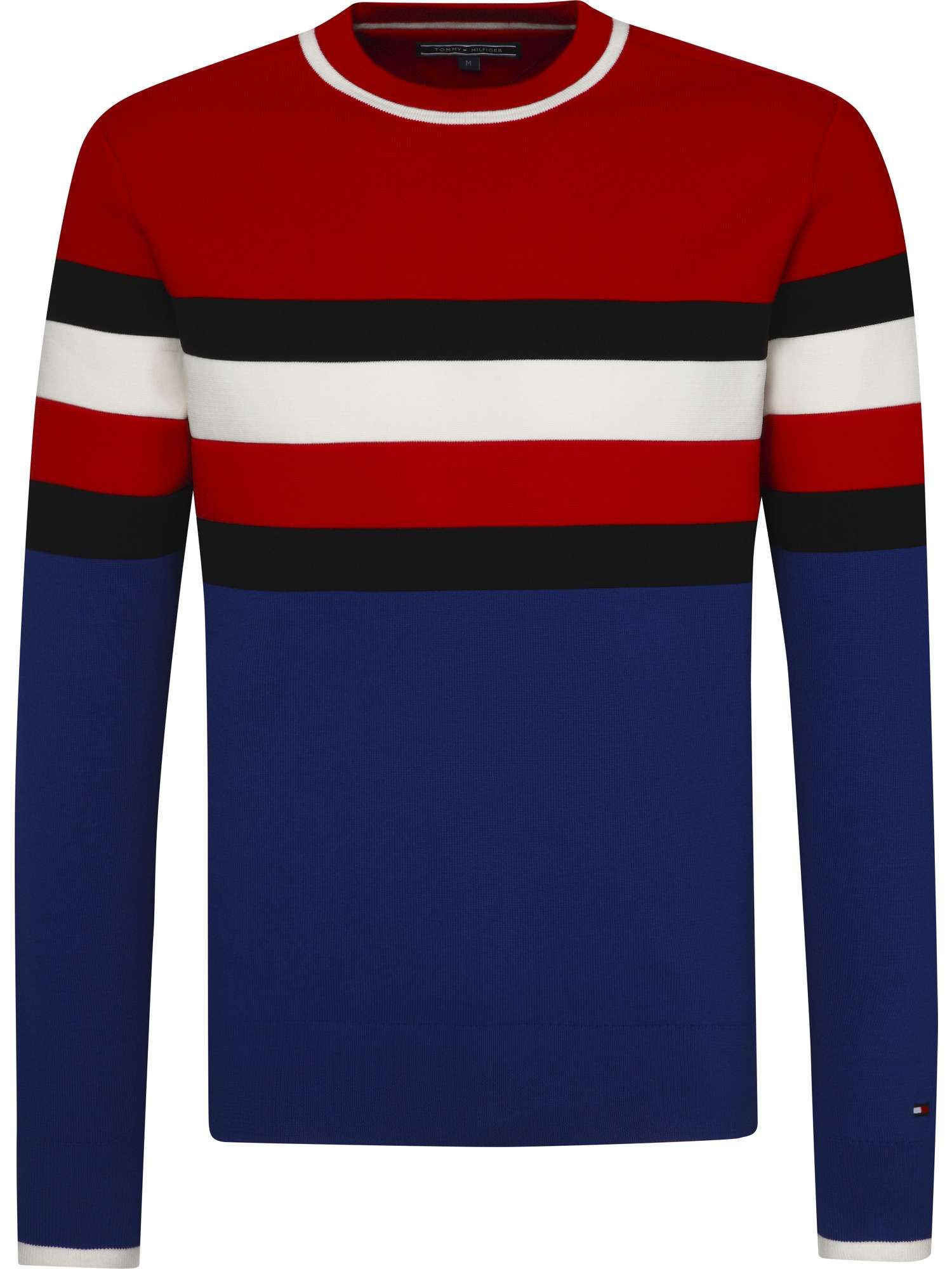 Tommy Hilfiger Sporty Stripe Sweater House of Fraser