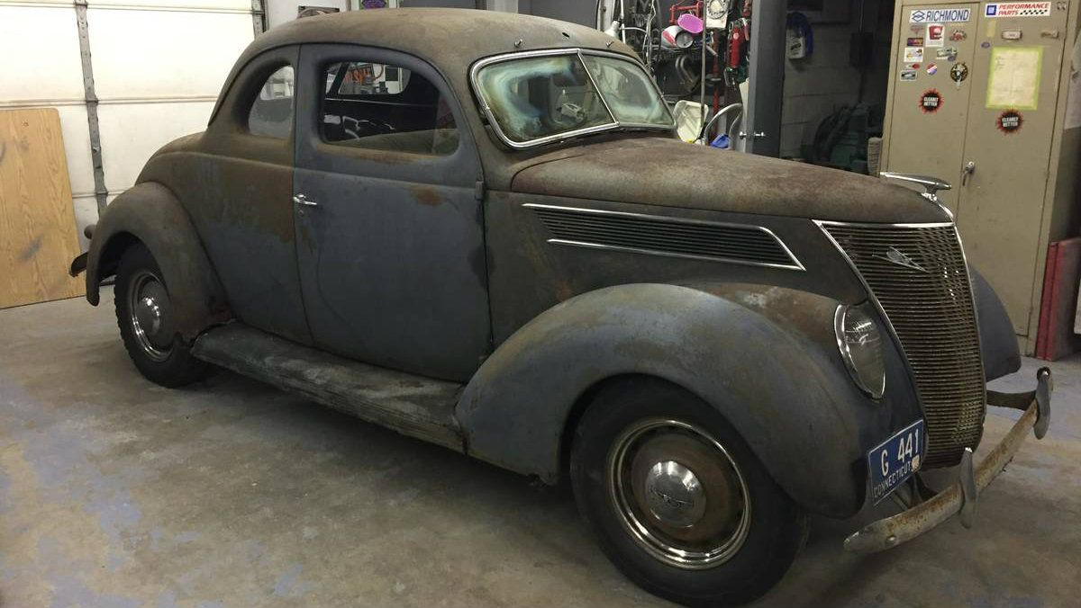 New England Barn Find 1937 Ford Coupe Deluxe Ford