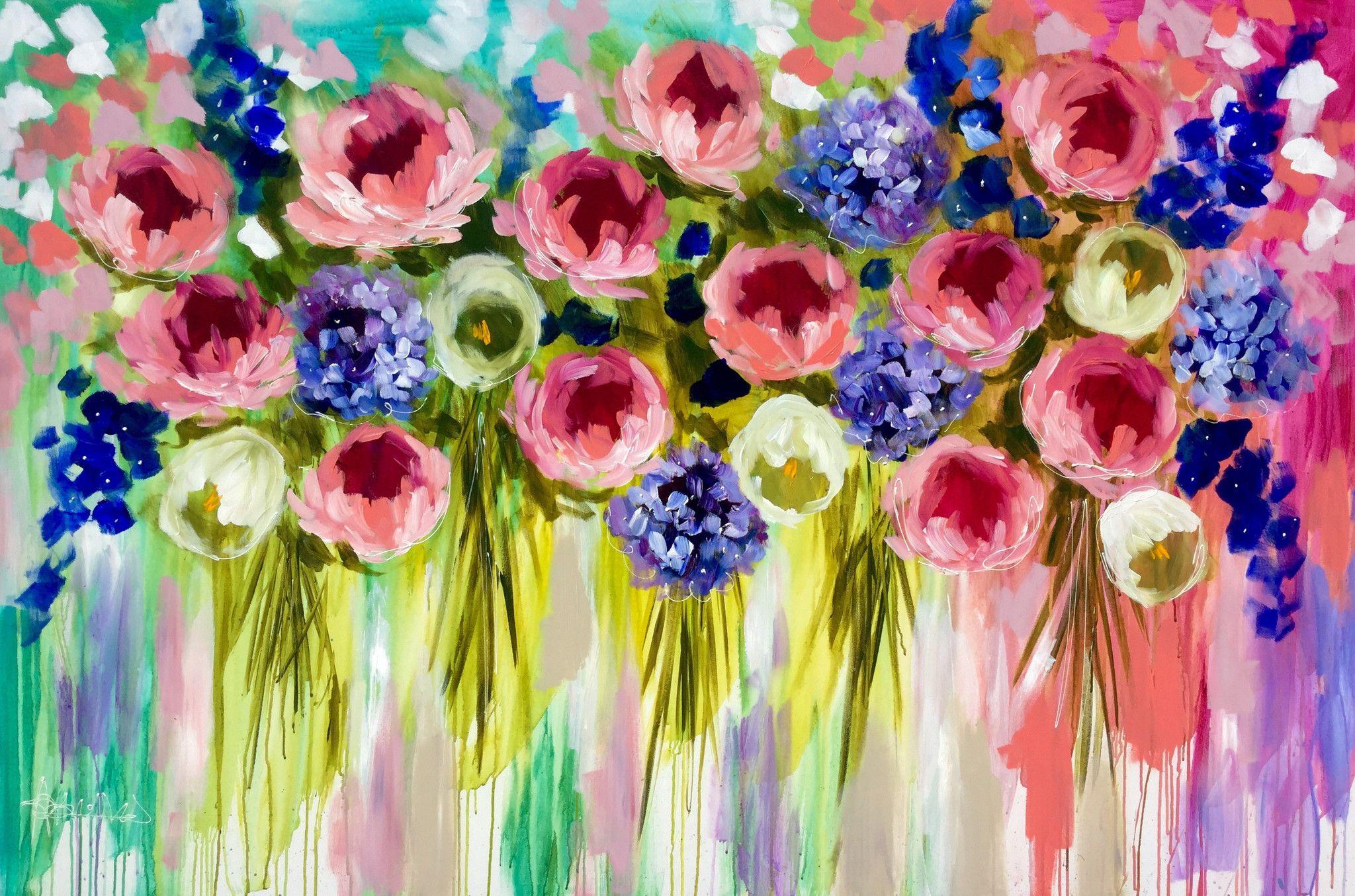 eternal season - original on canvas 120 x180 cm