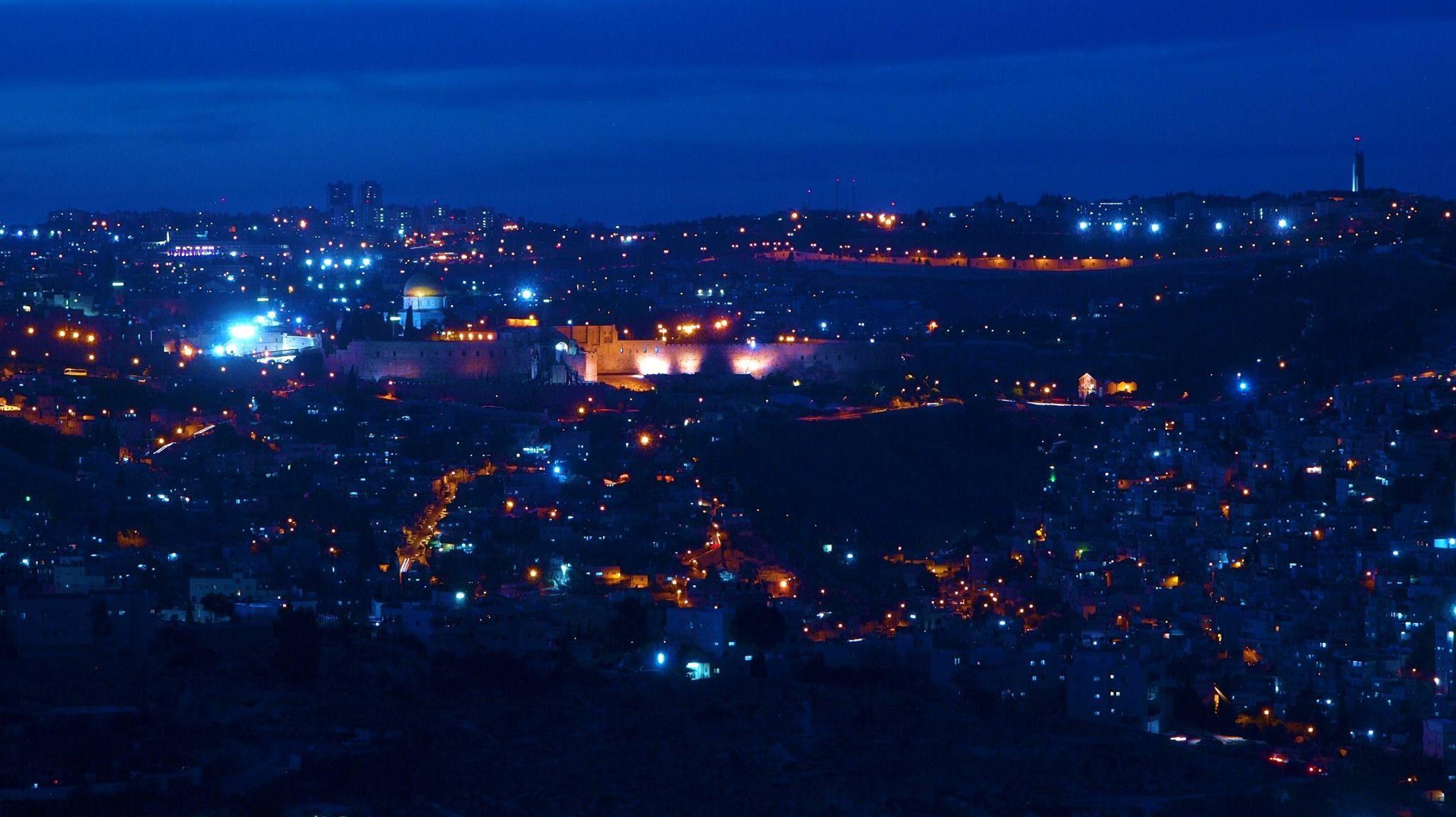 La bellezza della notte  #Gerusalemme #oltreogniaspettativa
