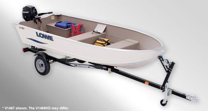 V1469 HD Utility-V Boat   Pontoon Boat   Lowe boats