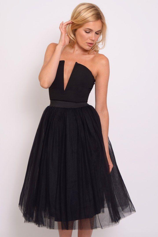 Rare London Black Plunge Tutu Dress | Shopping! | Pinterest | Tutu ...