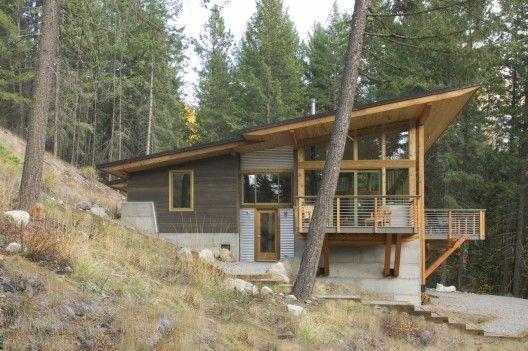 Wintergreen Cabin Balance Associates Architects Cabin Design Modern Cabin Building A House