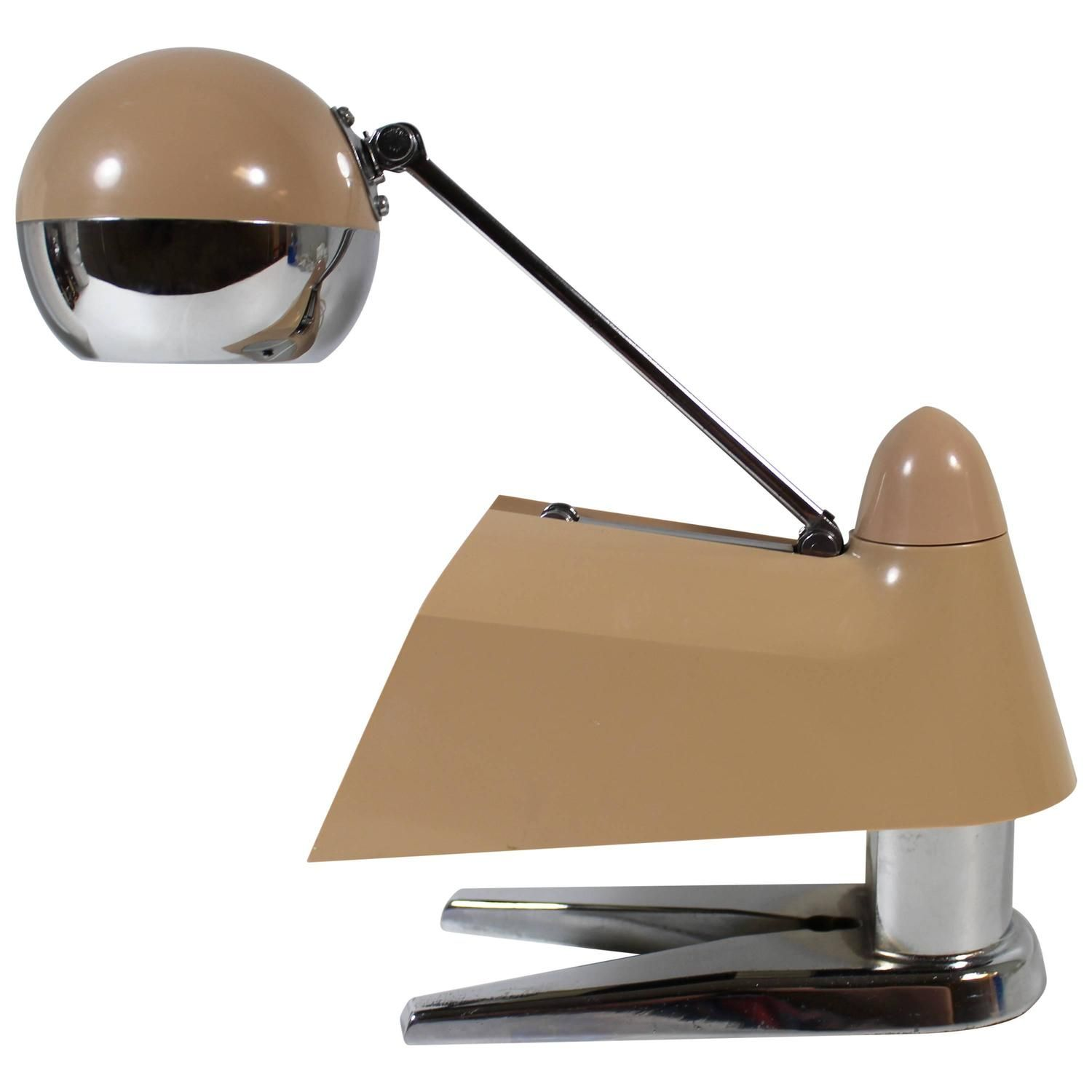 Space age telescoping desk lamp space age desk lamp and modern table