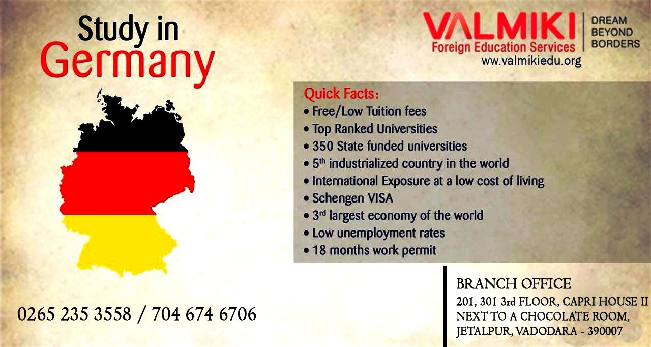 Germany is an attractive place to study and German university