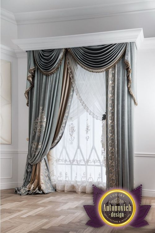 Luxury curtains is the final touch in creating interiors. Luxury ...
