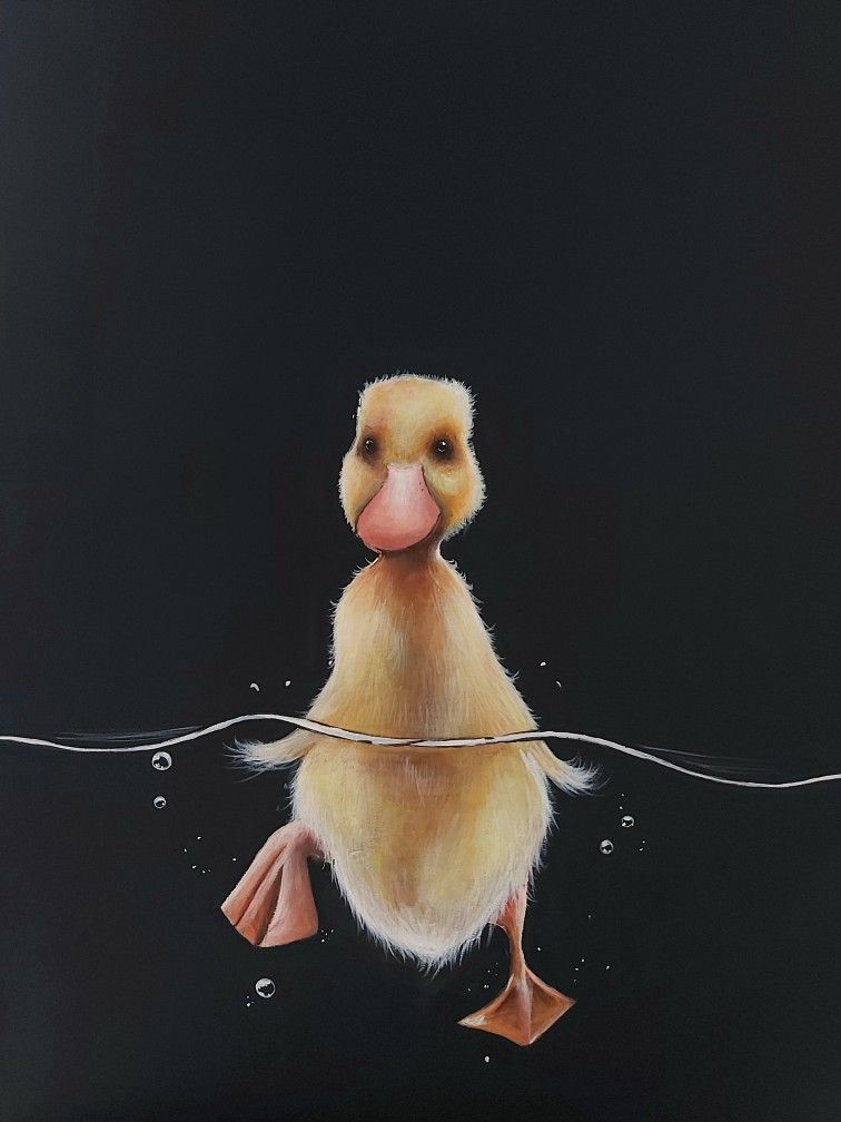 #artonpinterest #forsale #giftideas #artoftheday #duck #animal #babyanimals