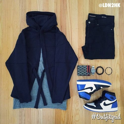 Today's top #outfitgrid is by @ldn2hk. ▫️#Kith #SakuraProject #Hoodie ▫️#SaintLaurent #Denim ▫️#Alexanderwang #flatlay #flatlayapp #flatlays