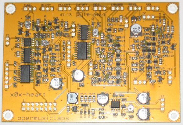 x0x heart - tb303 for eurorack modular synth DIY build
