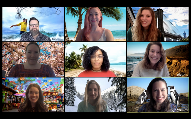 These Travel Inspired Zoom Backgrounds Will Spice Up Your Next Meeting Travel Inspired Hipster Background Baldwin Beach