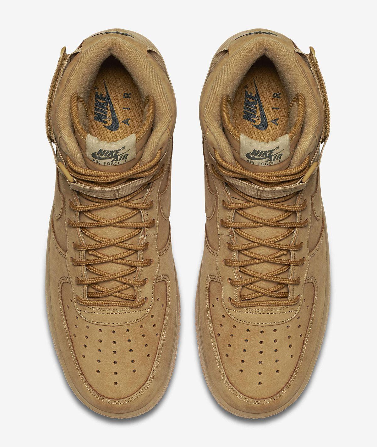 5d8849a0e Nike Air Force 1 High WB  Flax  - EU Kicks  Sneaker Magazine