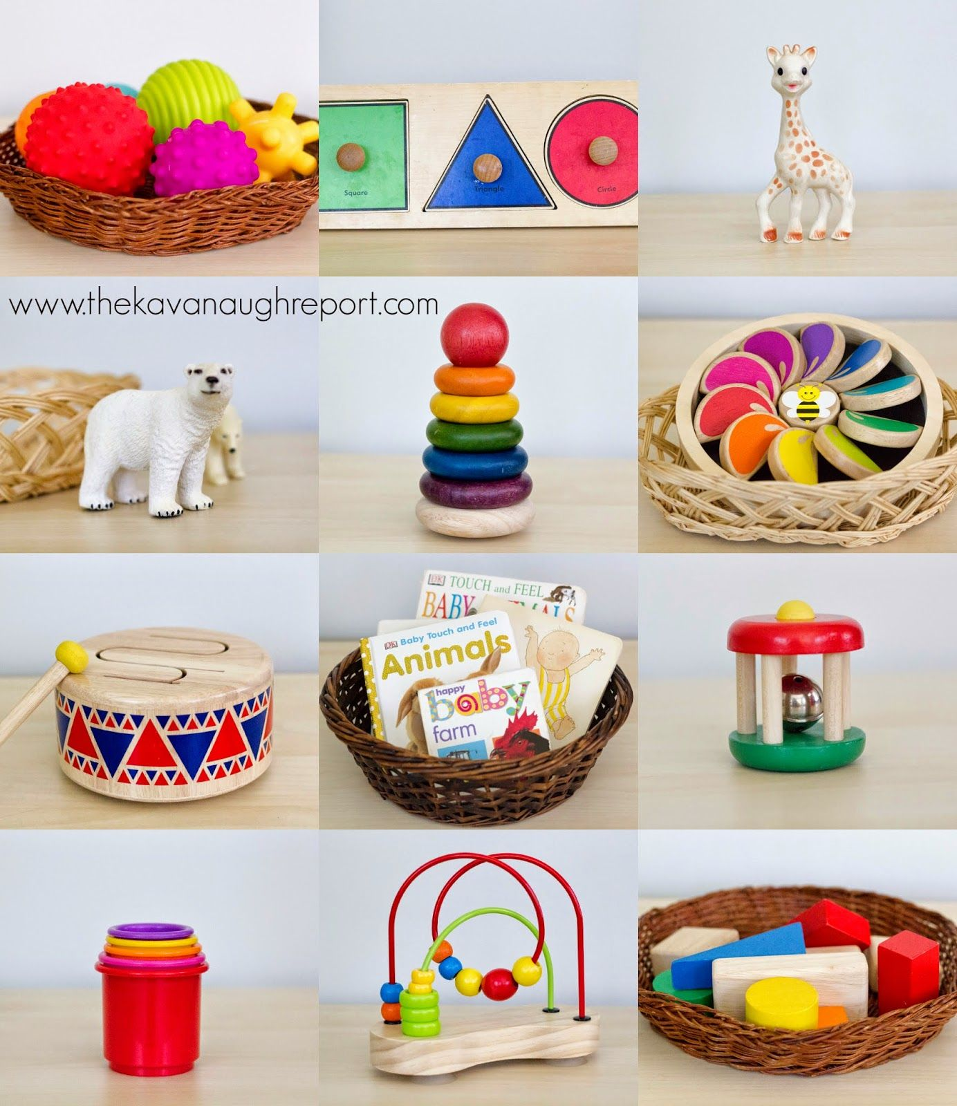 The Kavanaugh Report Montessori Baby Baby Toys 6 To 10