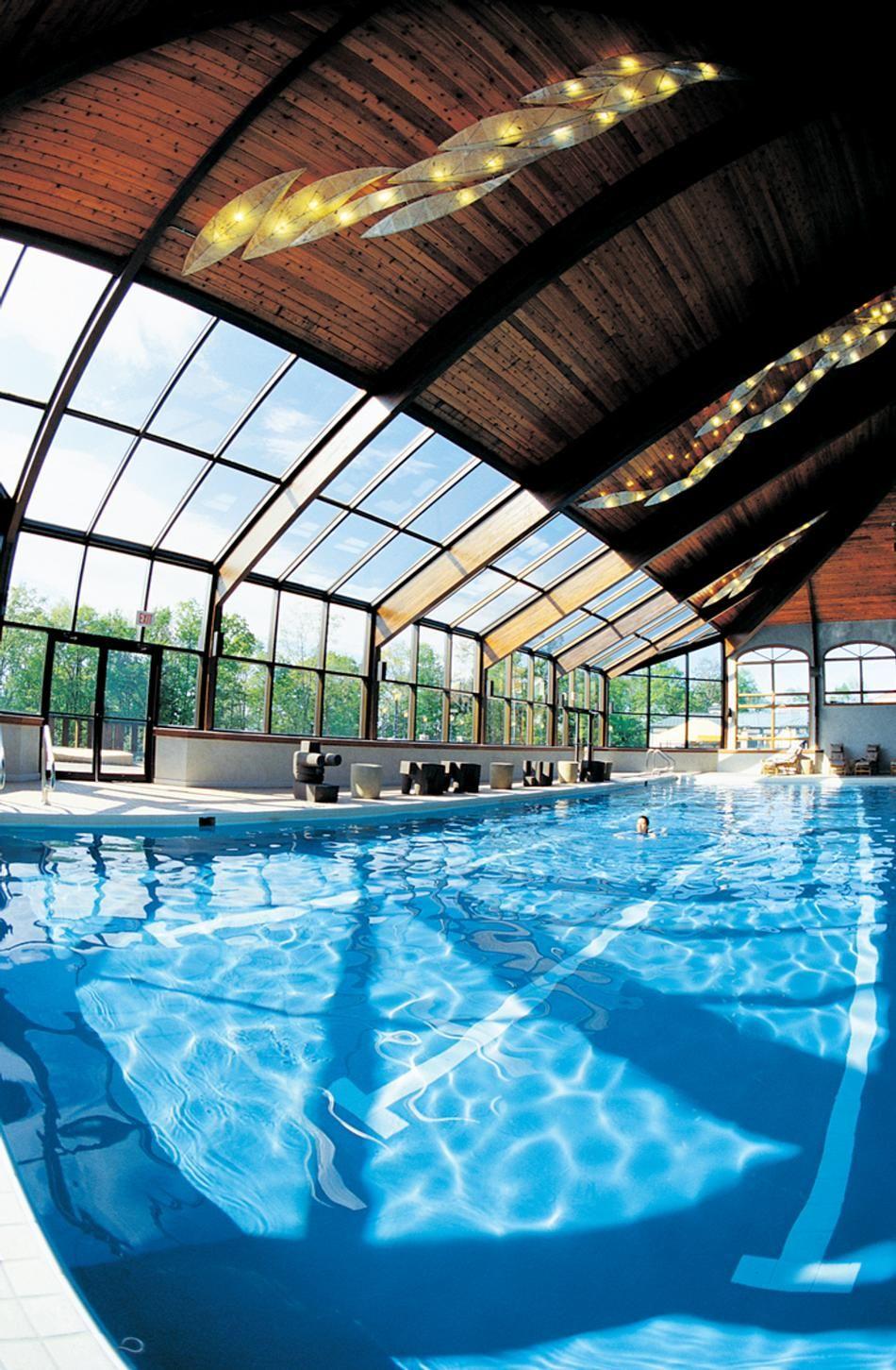 Indoor Spa Swimming Pool At Nemacolin Woodlands Resort Best Weekend Getaways Spa Weekend Weekend Getaways