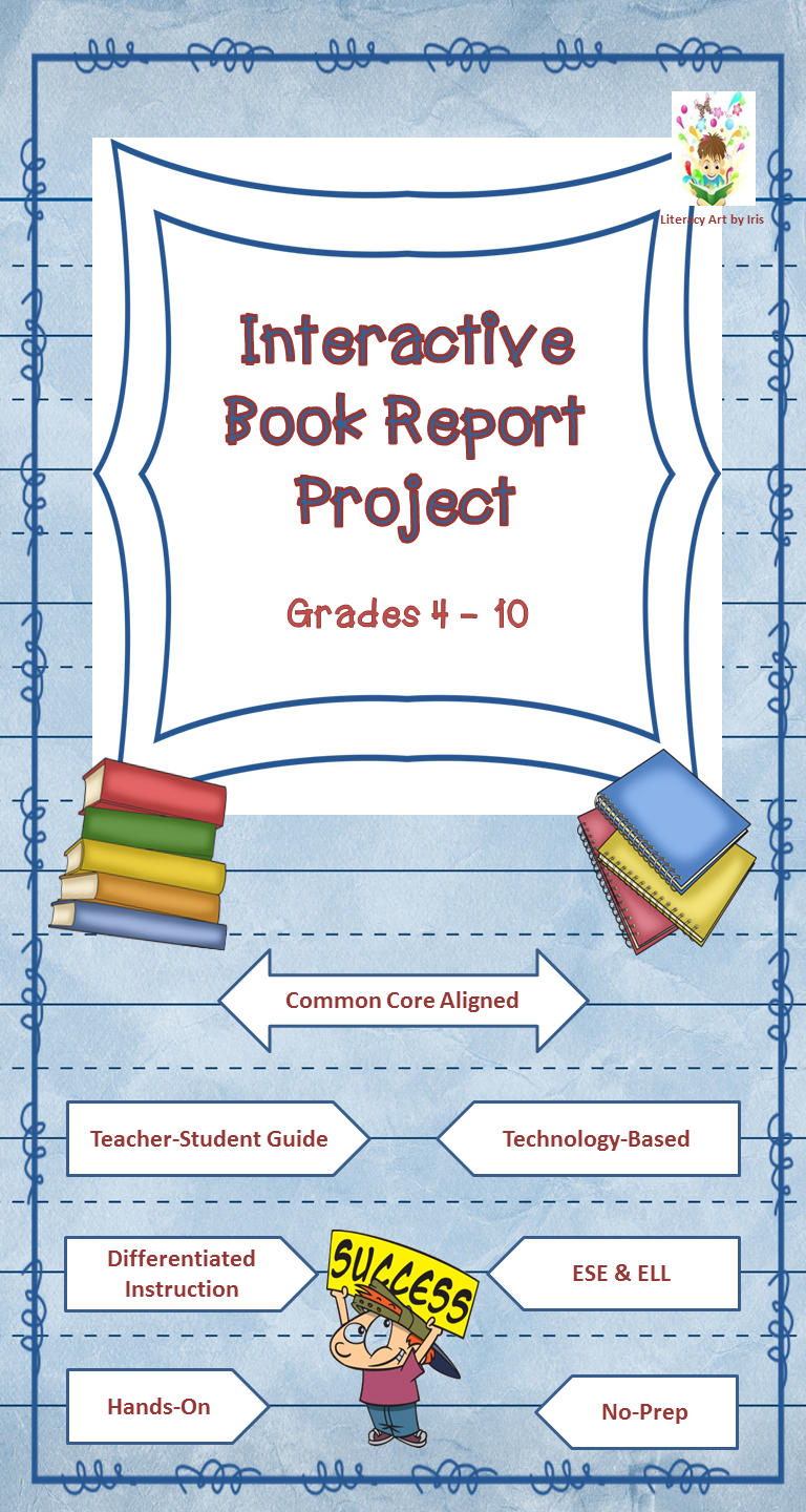 book report project ideas