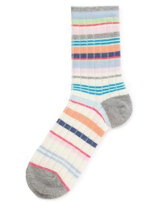 Variegated Striped Socks   M\u0026S