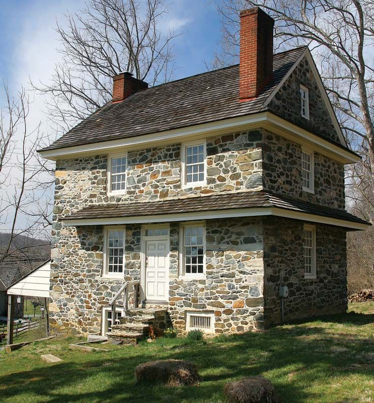 Farmhouses of the Brandywine Valley, Pennsylvania Old