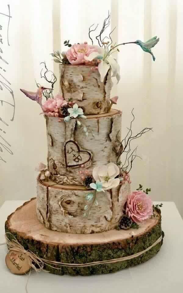 Hochzeits Torte  Blumen Flowers