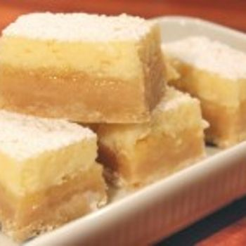 zesty lemon bars with cheesecake topping Recipe - ZipList