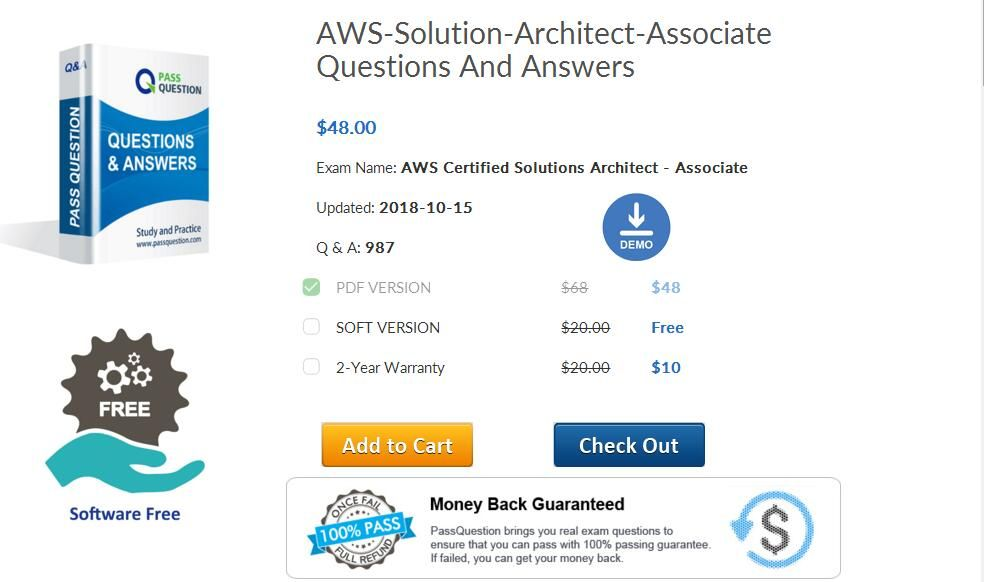 Passquestion offers you the latest AWS-Solution-Architect