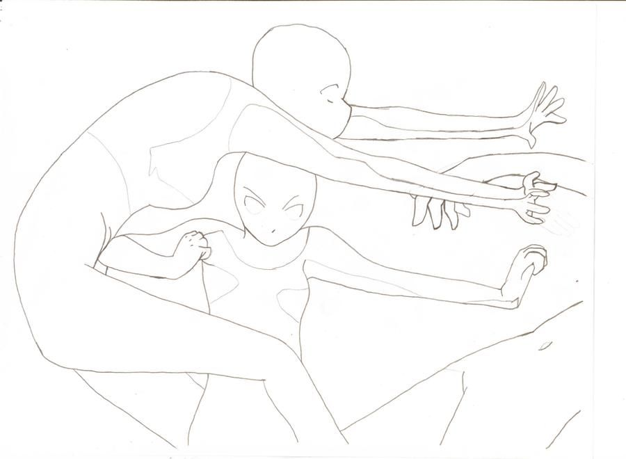 Fighting Base By Ashski On Deviantart In 2020 Fighting Drawing Anime Poses Reference Drawing Reference Poses