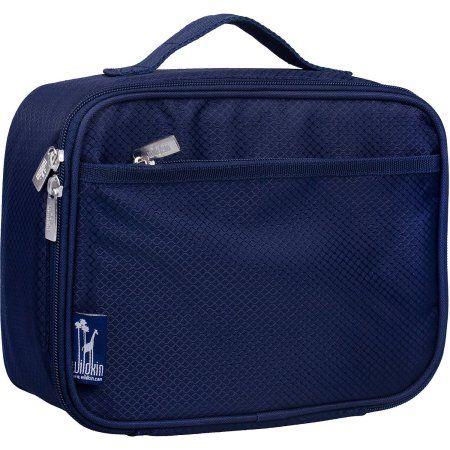 Rip-Stop Blue Lunch Box